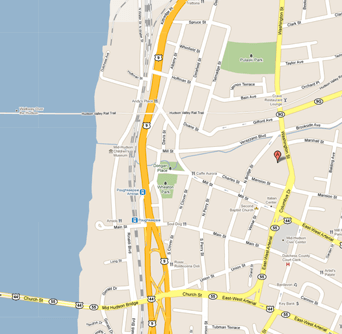 """Map showing location"